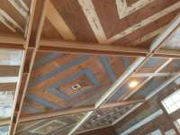 Painted pine ceiling | Old Texas Wood