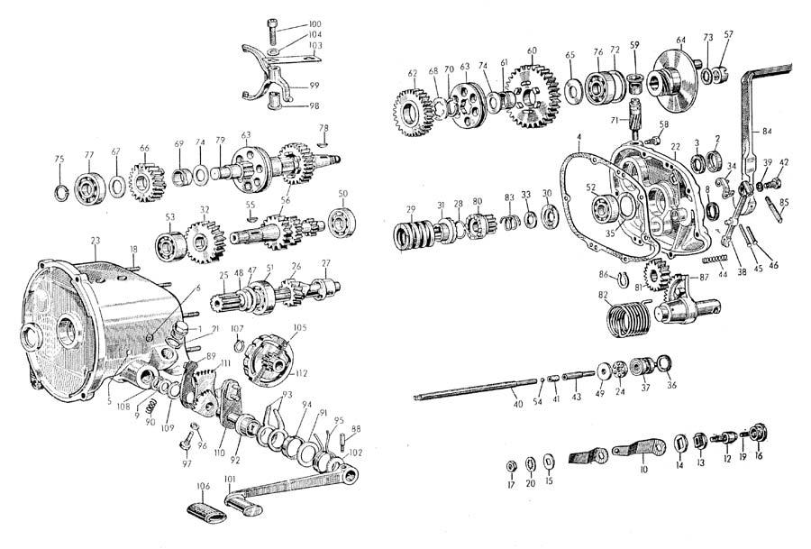 norton dominator wiring diagram