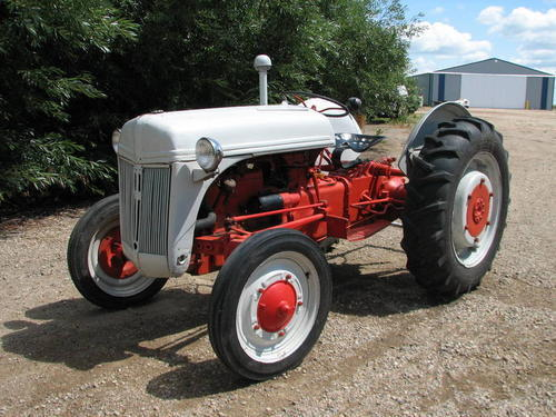 Old Ford tractors