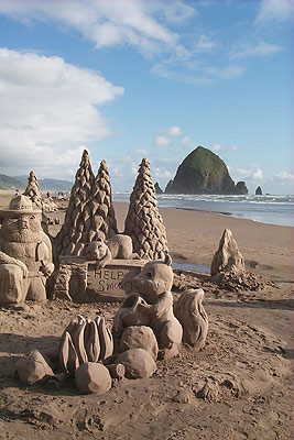 Sandcastle at Cannon Beach