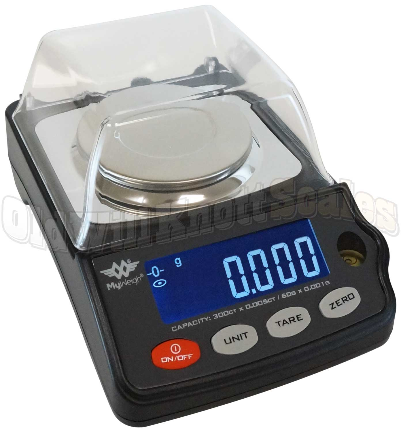 Precision Scale My Weigh Gempro 300 Compact Precision Scale With Storage Case