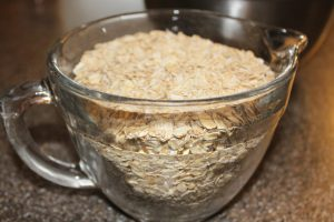 Start with 5 cups of Old Fashioned Oats