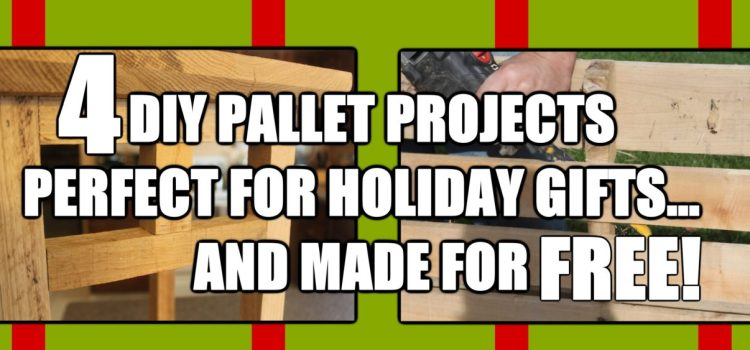 4 DIY Holiday Gifts You Can Make Free From Pallets!