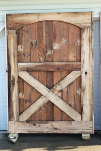 Barn doors are up! We have closure. - Old World Garden Farms