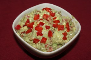 Guacamole Make-Over: Cajun Red Pepper Guacamole