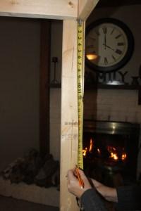 Measuring Down For The Shelves