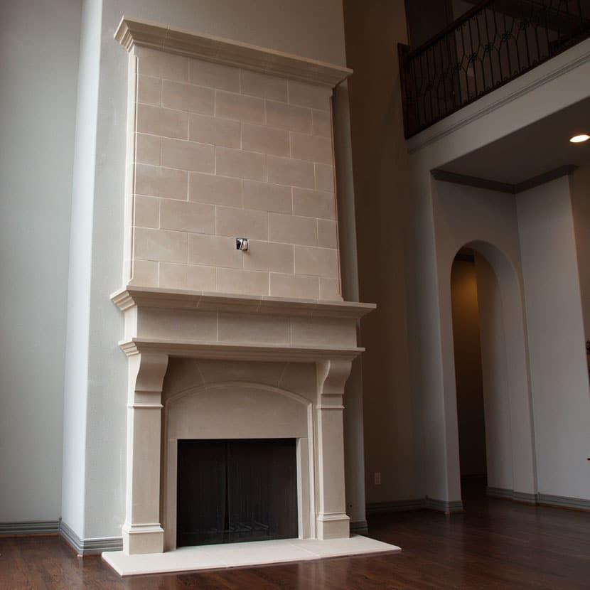 Normandy Cast Stone Fireplace Mantels 36 42 48 Old