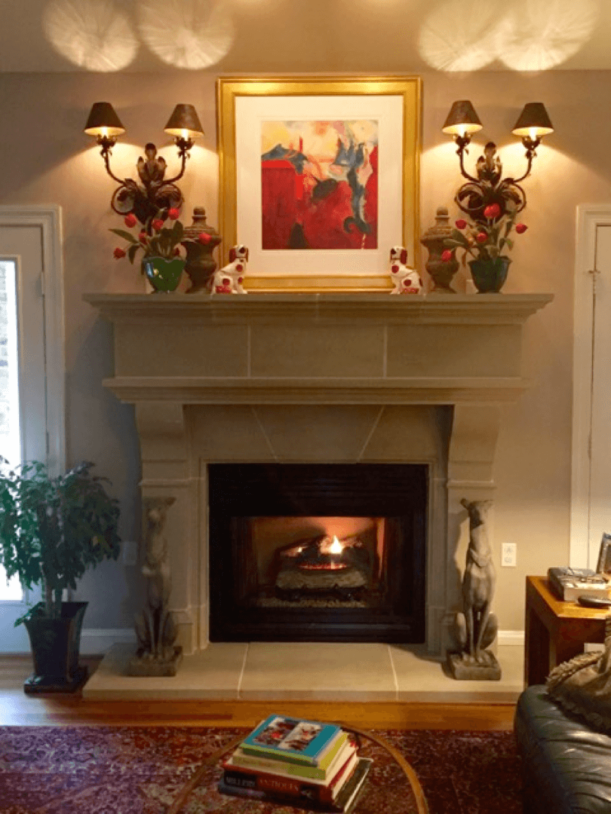 Cleaning A Fireplace Maintenance And Cleaning Of Your Cast Stone Fireplace And Range
