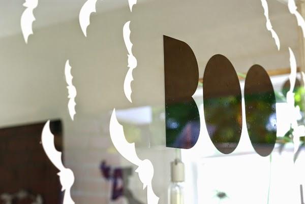 Cricut Window Cling For Halloween Oleander Palm