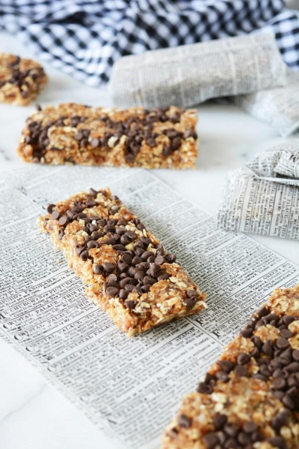_chocolate coconut granola bars 3