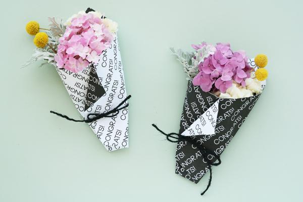 mini grad bouquet