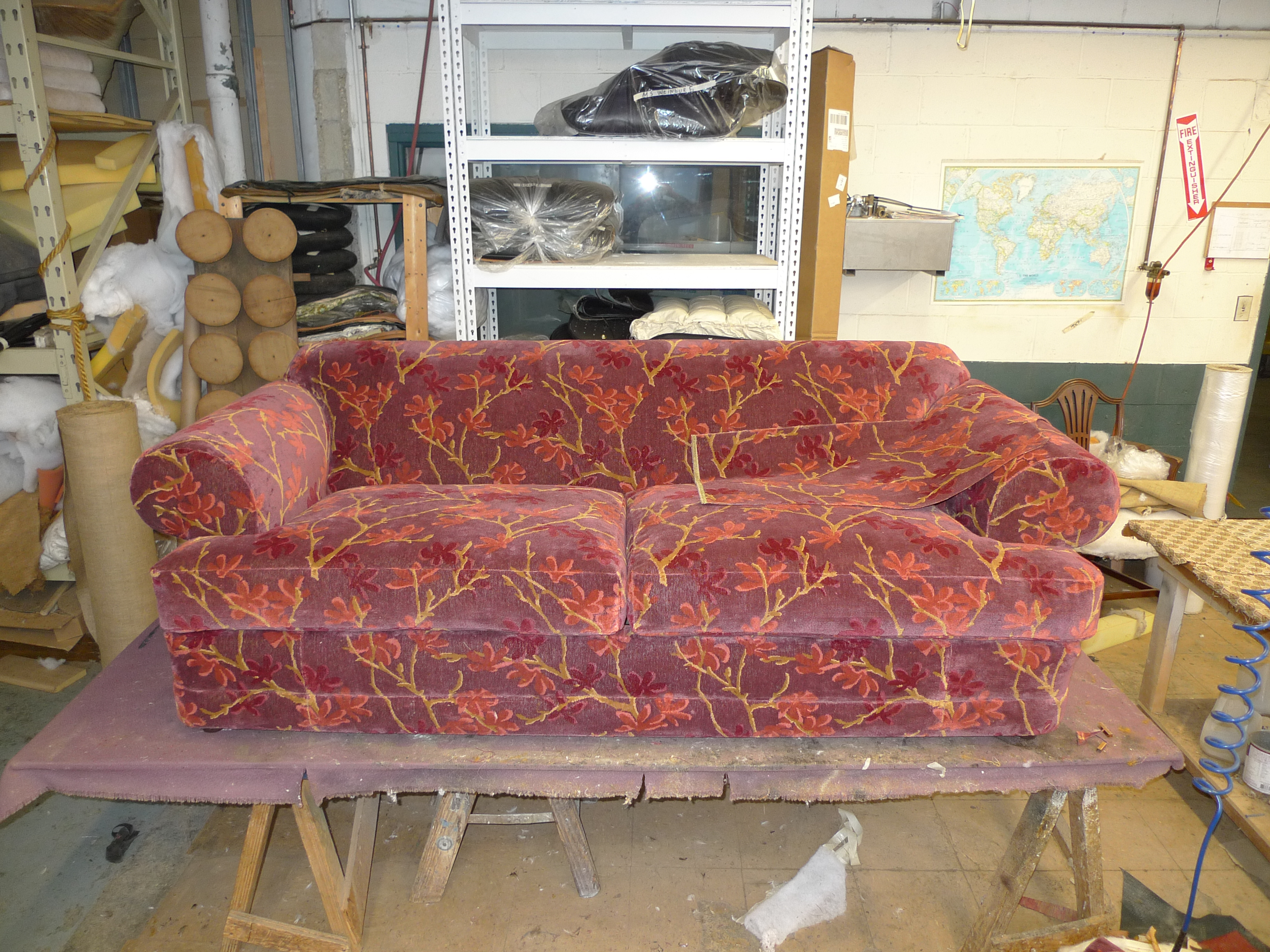 Furniture Upholstery Repair Of Leather And Fabric Finest Hand Sewing In Nyc
