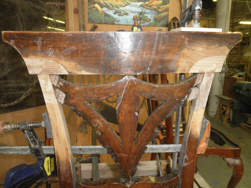 Side Arm Chair Antique, Modern Furniture Restoration Nyc, Ct, Nj