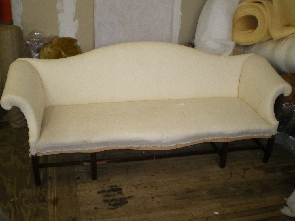 Sofa Queen Anne Antique Furniture Restoration For American Queen Anne Period Sofa