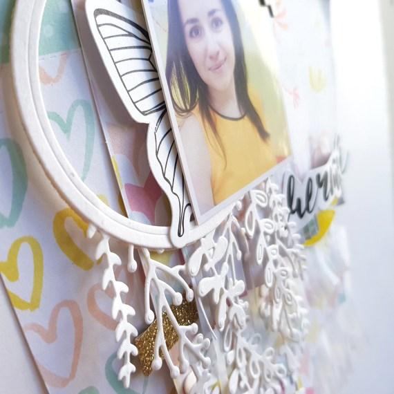 Мечтай — декоративная скрап страничка