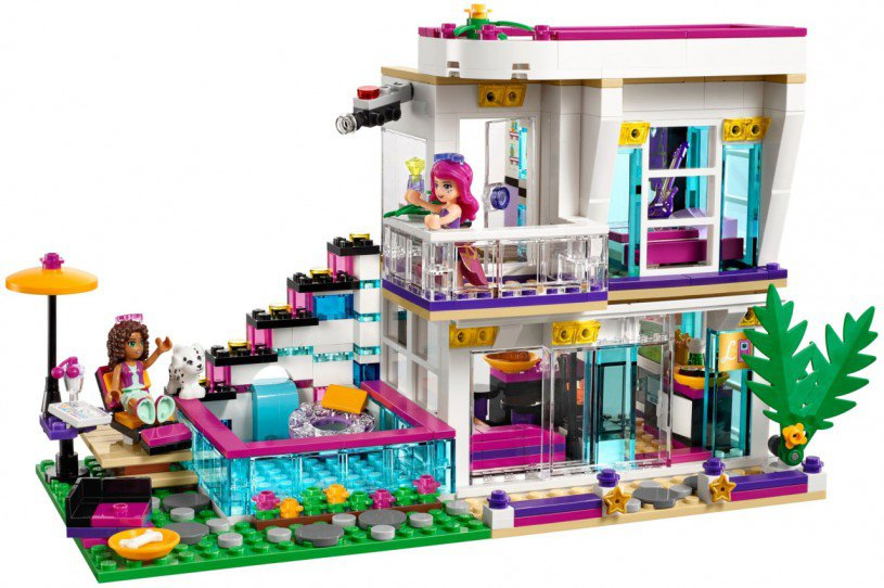 Lego Friends Slaapkamer Lego Friends Pop Star 41135 Kopen: Livi's Popsterrenhuis