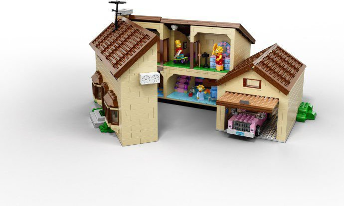 Minecraft Slaapkamer Lego Simpsons 71006 Kopen: The Simpsons House