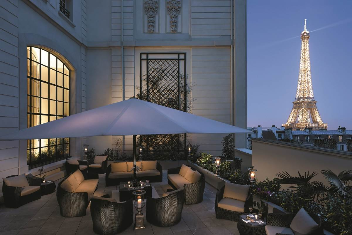 Hotel Terrasse Shangri La Paris Luxury Hotel In Paris France