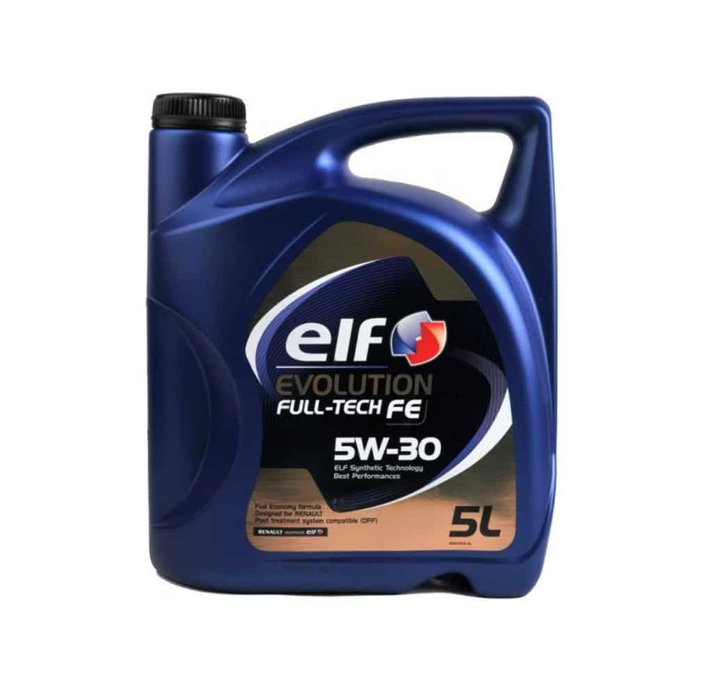 Motorolie Specificaties 5 Liter Elf Evolution Fulltech Fe 5w30 Voorheen Solaris Dpf