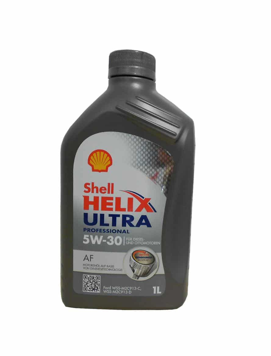 Motorolie Specificaties Motorolie 1 Liter Shell Helix Ultra Professional Af 5w30 O A Ford