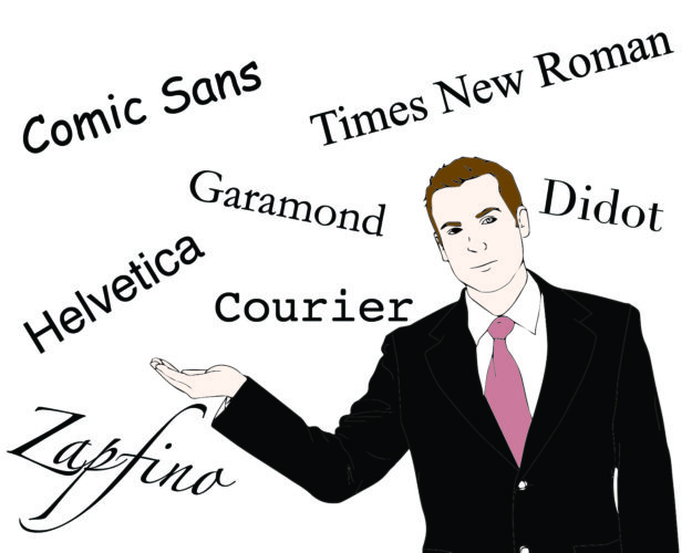 Best  worst fonts for resumes - Olin BlogOlin Blog