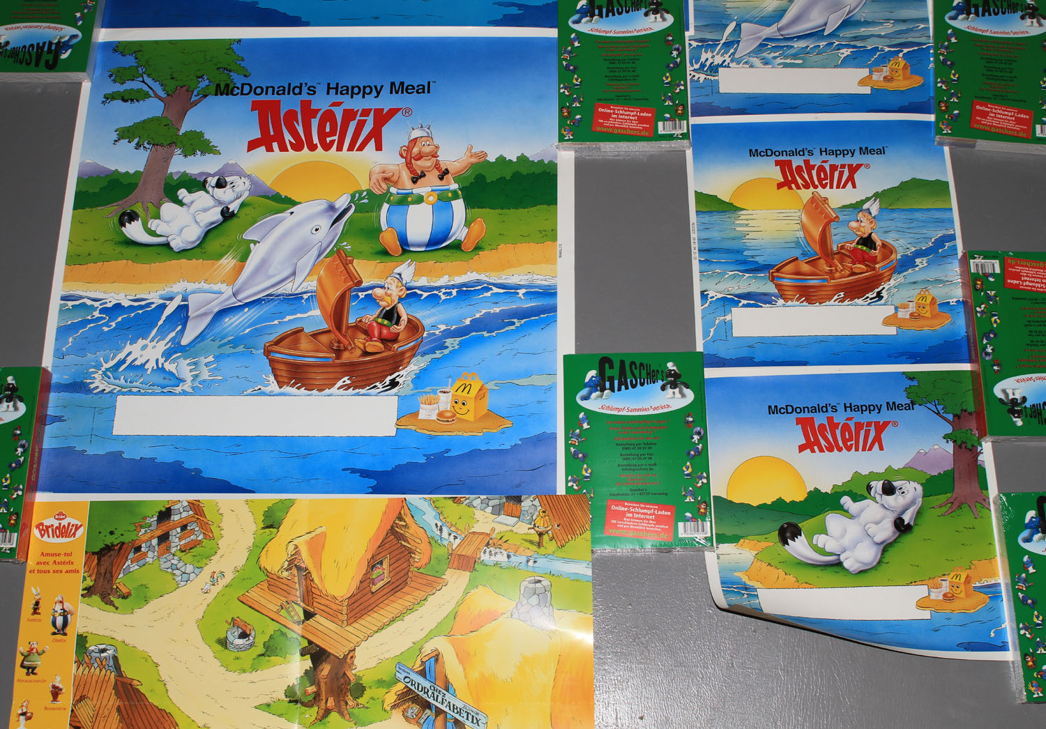 Poster Werbung Asterix And Obelix Poster Andrucke Werbung Happy Meal