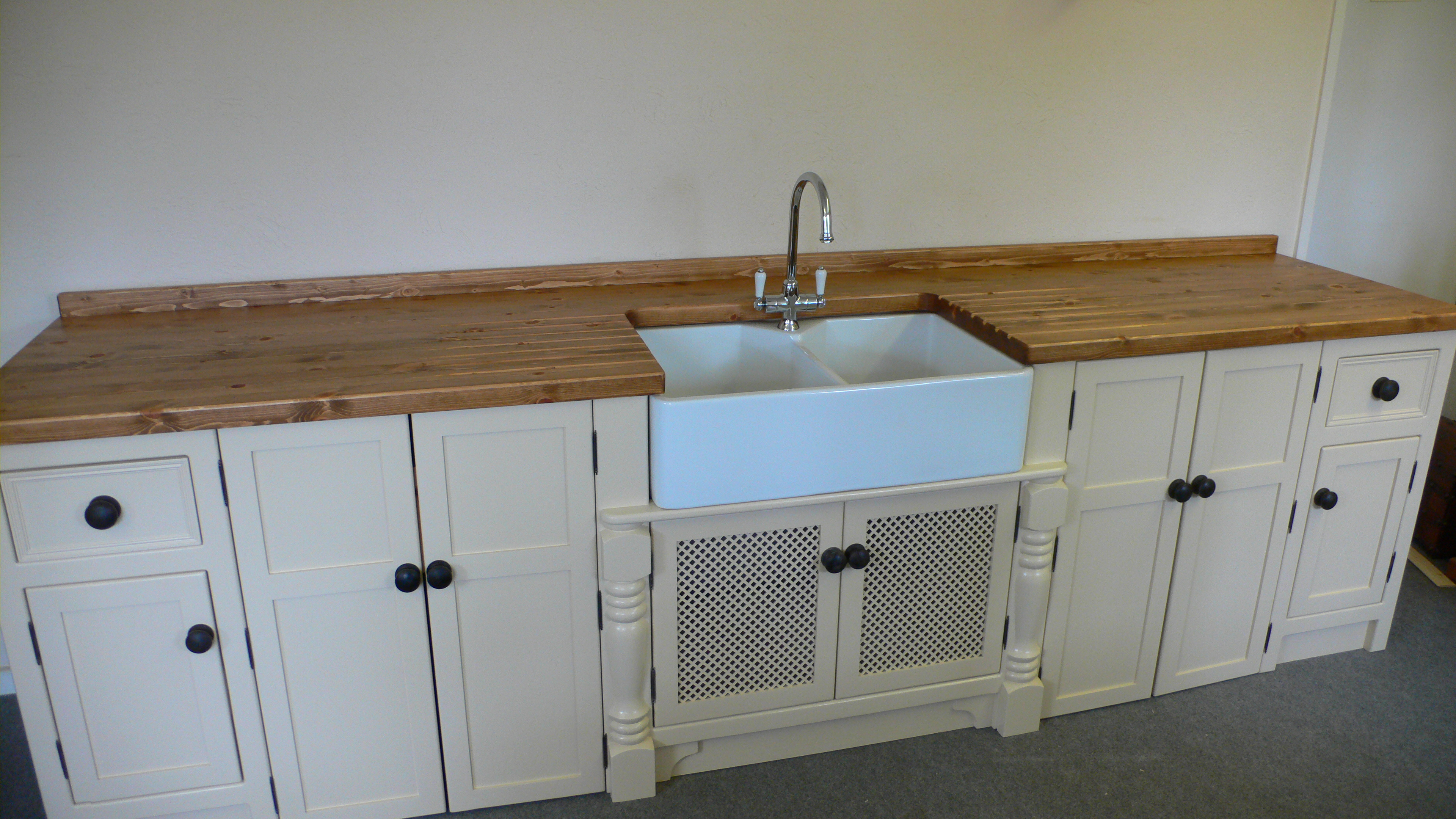 Double Butler Sink Large Double Butler Sink Unit The Olive Branch Kitchens Ltd