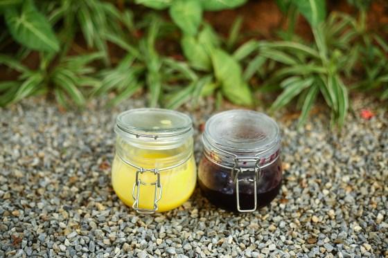 Blueberry Jam & Lemon Curd