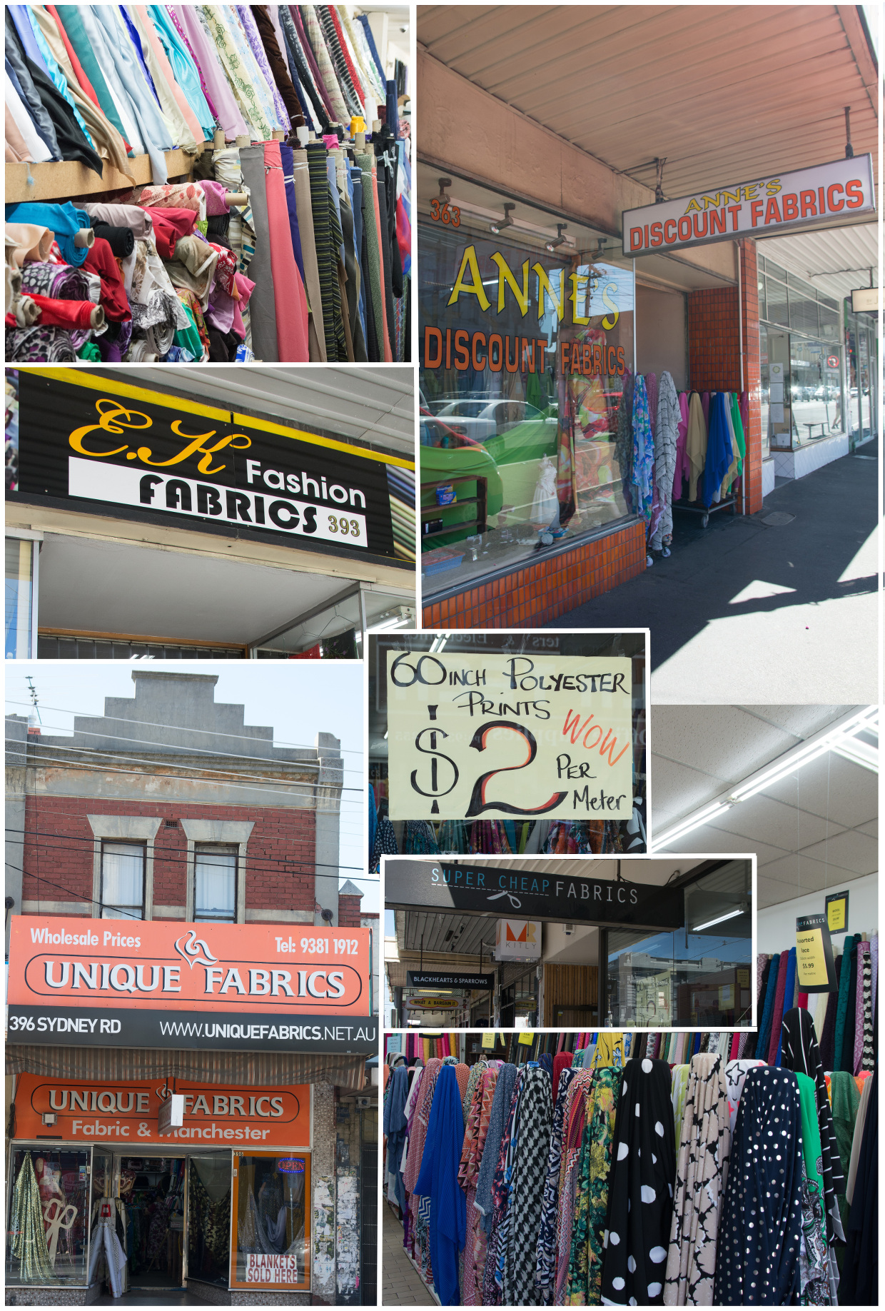Wholesale Fabrics Brisbane Fabric Shopping In Melbourne Blog Oliver S