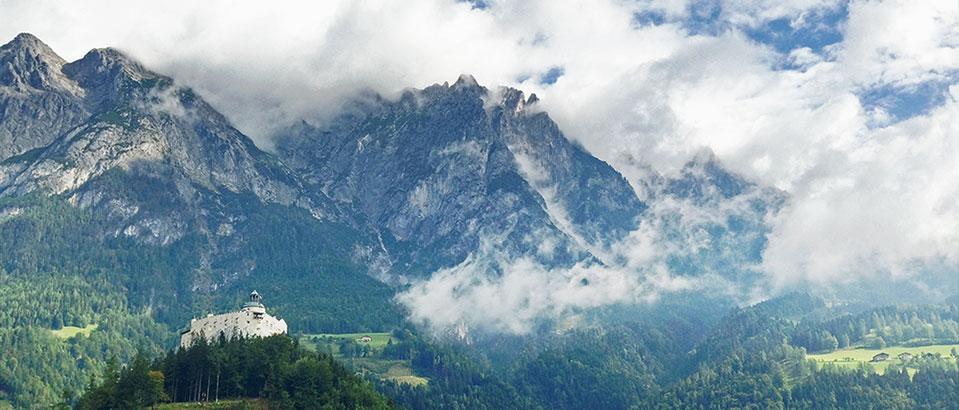 austian alps castle