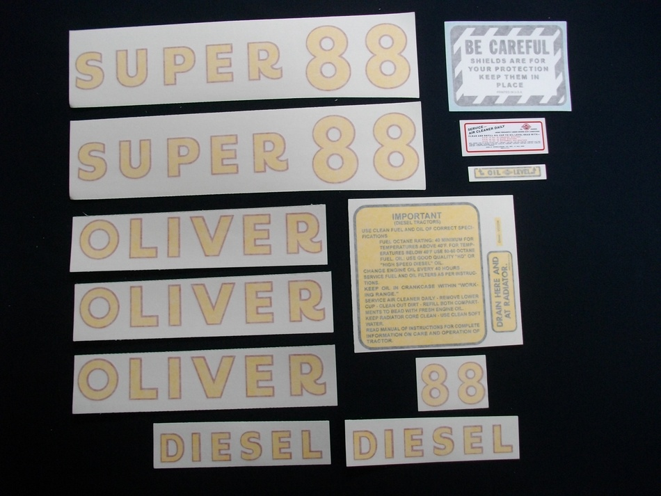 Oliver Parts for Tractors
