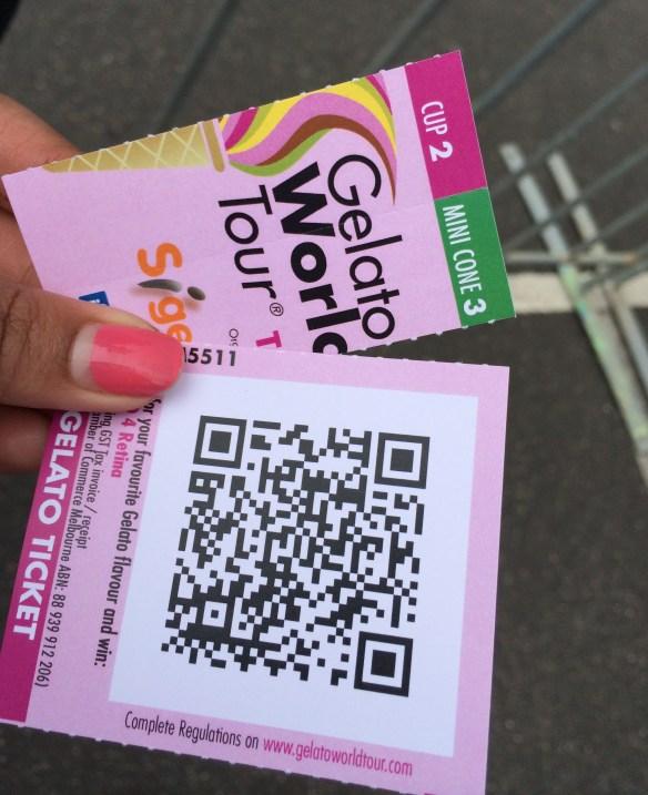 World Gelato Tour (Melbourne) - Gelato Tickets.