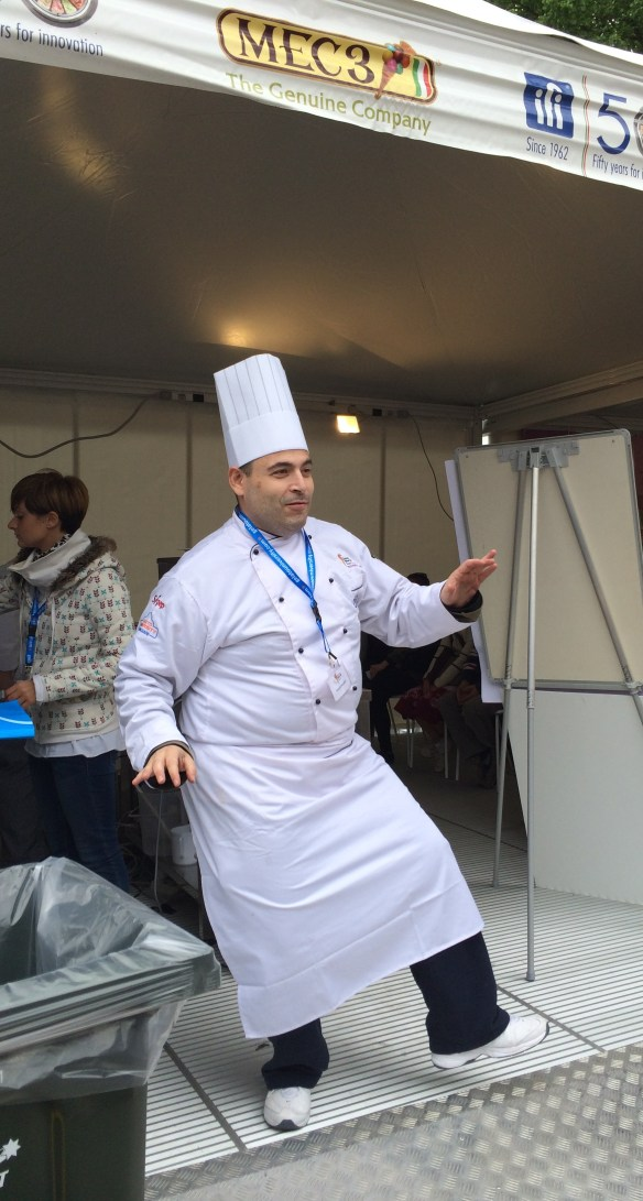 World Gelato Tour (Melbourne) - Dancing Gelato Chef.