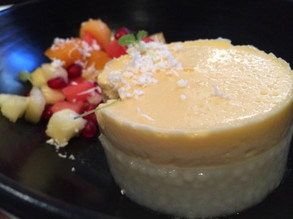 Burma Lane - Sago & coconut pudding .