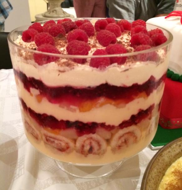 Jess' Trifle - Best Trifle ever.
