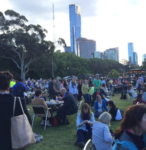 Melbourne Night Noodle Markets - Alexandra Gardens.