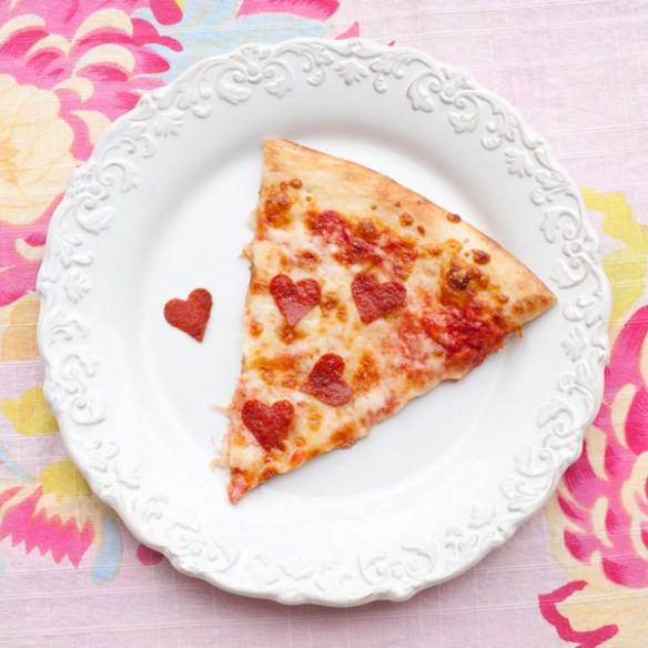 Valentine's Day - Valentine Pizza.
