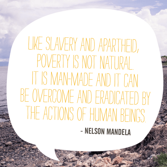 Help the fight against extreme poverty!