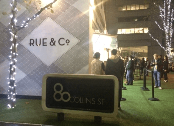 Rue & Co - Melbourne Pop-Up.