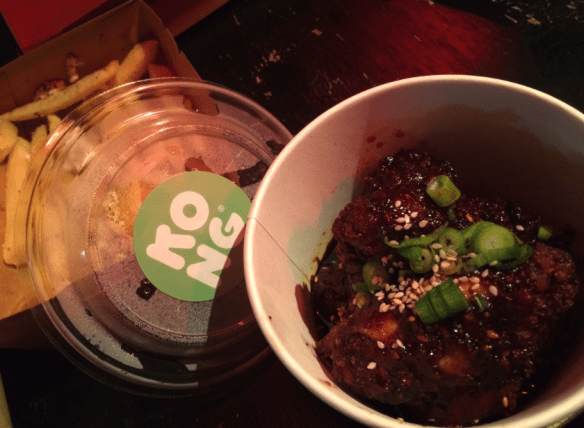 Rue & Co - Melbourne Pop-Up - Kong Korean honey & garlic chicken wings.