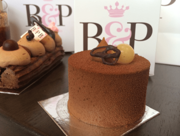 Burch and Purchese - Chocolate and pear cake