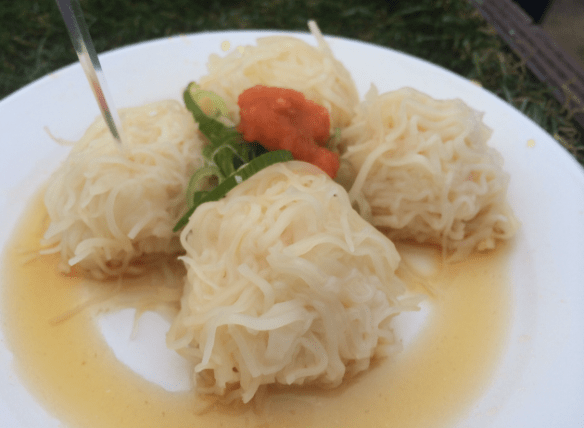 Taste of Melbourne 2014 - Sake's Steamed Prawn Shumai Dumplings