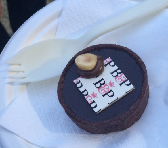 Taste of Melbourne 2014 - Burch & Purchese's Salted Caramel Tart