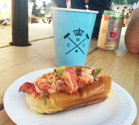 Royal Croquet Club Melbourne - Mr Claws' spicy lobster roll
