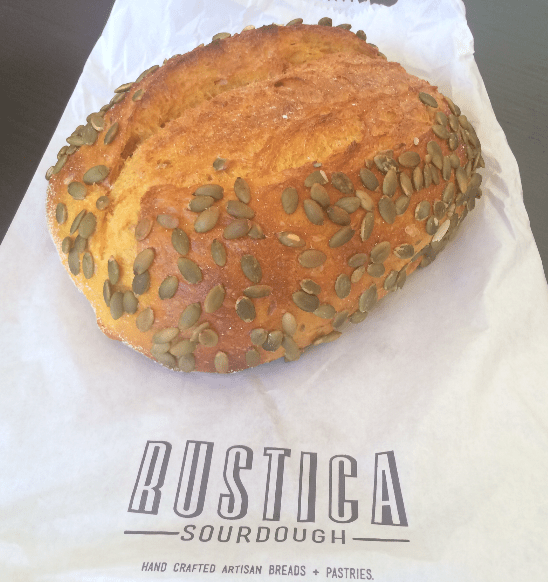 Rustica Sourdough - Pumpkin Sourdough