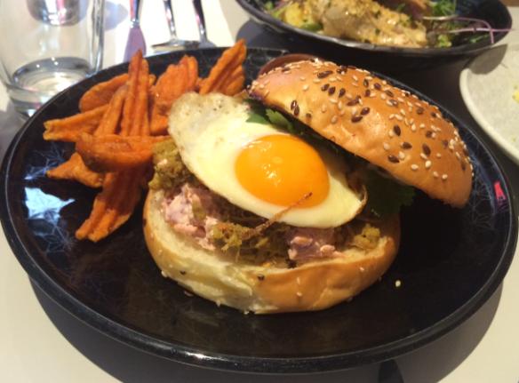 Operator 25 - Balinese pulled pork burger
