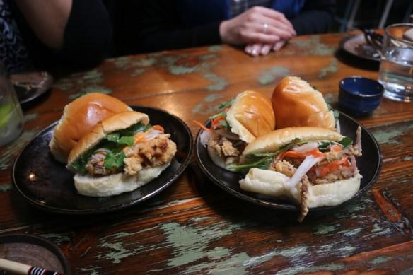 Rice Paper Scissors - Soft-shell crab baguettes