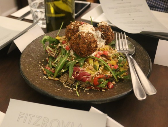 Fitzrovia - Chickpea and black quinoa falafel