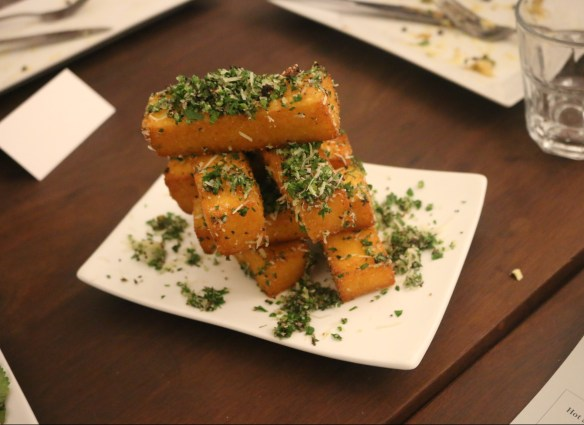 Fitzrovia - Signature polenta chips w truffled parsley and parmesan
