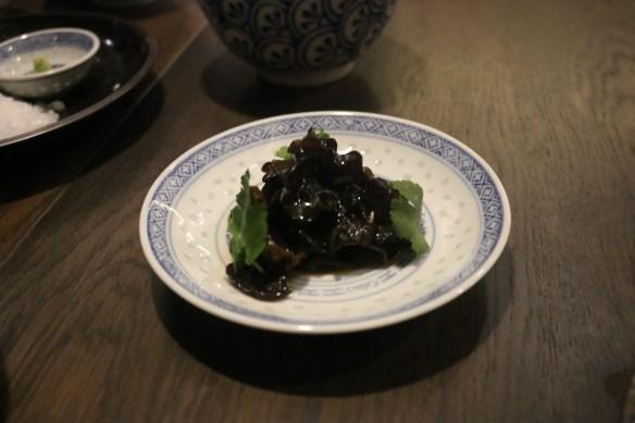 Lee Ho Fook - Black fungi w aged black vinegar